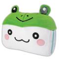 10吋饅頭家族青蛙造型車用頭枕