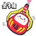 饅頭家族UFO達摩PVC吊飾